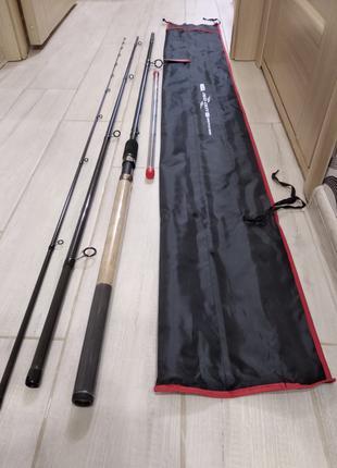 Фидерное удилище фидер Weida Neoxoen 3.9 м тест 60-120 гр карбон