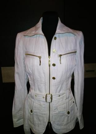 Biba куртка, пиджак молочного цвета