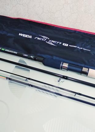 Фидерное удилище фидер Weida Neoxoen 3.3 м 60-120 гр карбон
