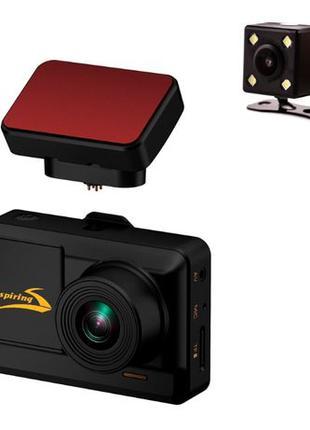 Видеорегистратор 2 камеры ASPIRING ALIBI 5 WI-FI GPS MAGNET+