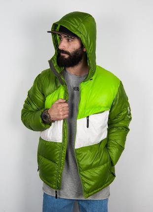 Дутый пуховик salomon пуховая куртка