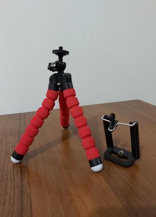 Гнучкий штатив-монопод для телефону