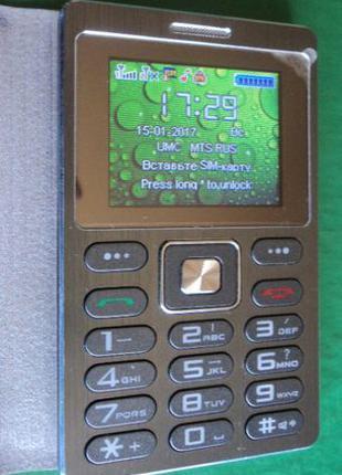 Телефон SATREND (CardPhone) небольшой мобильный 9 см.