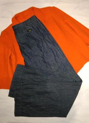 Pepe jeans джинсы широкие актуальные