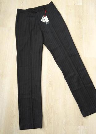 Новые классические брюки 34-36xl 34-36хлв полоску на высокого ...
