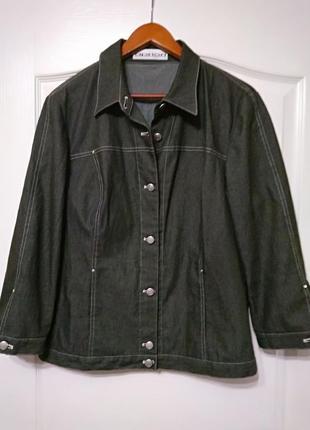 """""""apriori  escada group"""" трендовый  пиджак, куртка джинс"""
