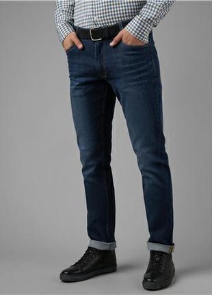 Брендовые зауженные джинсы большого размера
