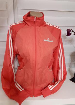 Куртка розовая спортивна ветровка