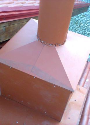 Изготовление и монтаж изделий из оцинковки и нержавейки.