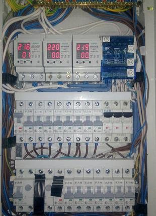 электромонтаж с нуля, замена старой электропроводки.