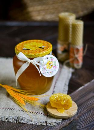 Натуральний закарпатський мед