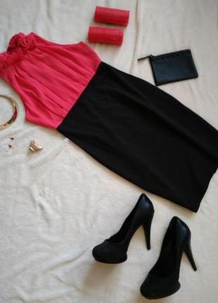 Платье кораллового цвета/// много интересного, заходите///