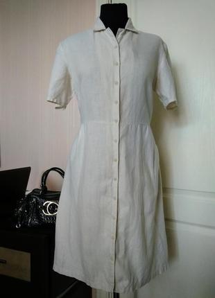 """Essentiel casual платье льняное """" ничего лишнего"""" классика"""