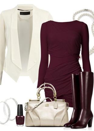 Zara крутезное платье цвета марсала/// много интересных вещей///