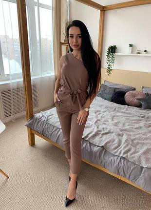 Костюм , блузка и брюки