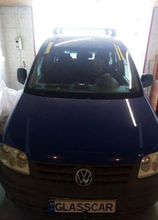 Лобовое стекло Установка Замена Стекла Volkswagen Caddy Заднее...