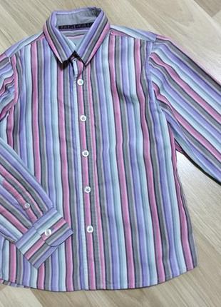 Рубашка мальчику 6-7 лет