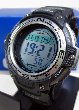 Чоловічий годинник з компасом саsіо sgw100-1v