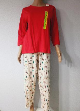 Классная хлопковая женская пижама
