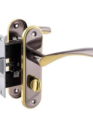 Ручка дверная FZB BK-71157 50mm BN/GP Никель Золото. Качество ...