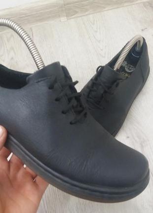 Кожаные ботинки dr.martens черевики