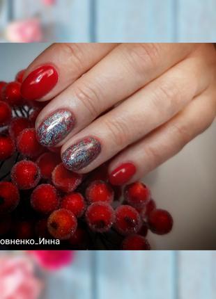 Гель-лак, наращивание ногтей,укрепление ногтевой пластины, педикю