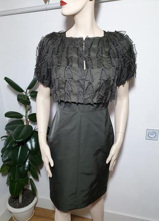 Платье с накидкой от hugo boss