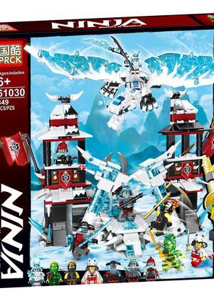 Конструктор PRCK 61030 Ниндзяго Защитные башни ледяного дрдракона