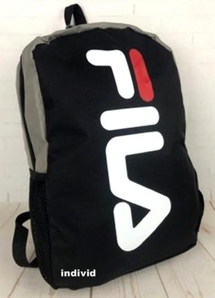 Мужской рюкзак fila. спортивный рюкзак фила. модная сумка fila...