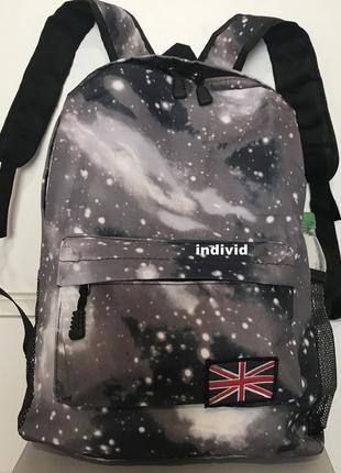 Портфель вселенная. рюкзак космос. женская сумка галактика.