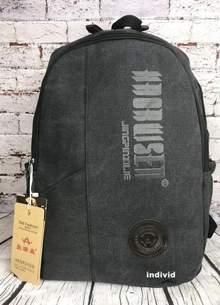 Городской рюкзак из холста. новый качественный рюкзак. мужская...