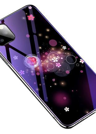 TPU+Glass чехол Fantasy с глянцевыми торцами для Apple iPhone 11