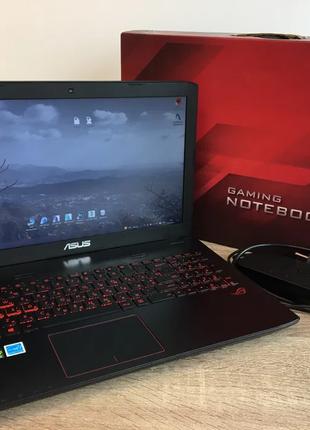 Мощный! Игровой ноутбук Asus ROG+ОЗП32ГБ+GeForceGTX960M, 4ГБ+SSD
