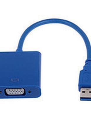 Внешняя USB 3.0 видеокарта VGA, второй монитор