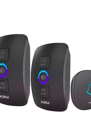 Беспроводной дверной звонок +2 приемника 433МГц KERUI M525 сиг...