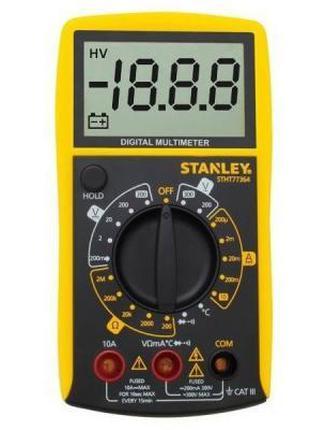 Цифровой мультиметр Stanley AC / DC 0-300V (STHT0-77364)