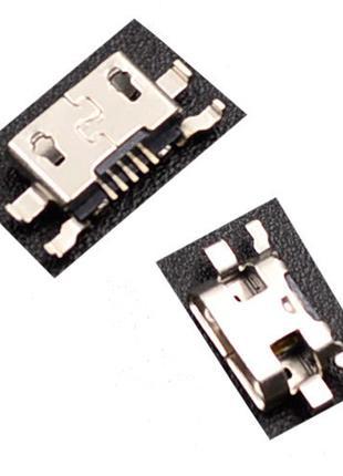Разъем MicroUSB 5pin MC-259 Motorola Moto G G2 XT1063 XT1068 X...