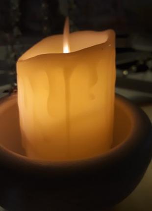 """свеча искусственная светодиодная """"живое пламя"""" LED"""