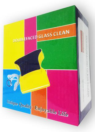 Double Sided Glass Cleaner - Магнитная щетка для двухстороннег...