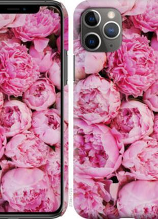 Чехол Пионы v3 для iPhone 11 Pro Max