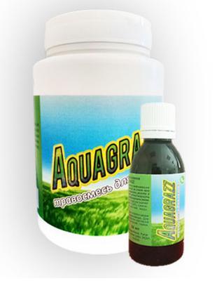 Aquagrazz - Жидкий газон-органическая смесь + Травосмесь для г...