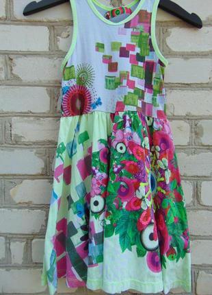 Платье для девочки 9-10 лет, desigual.