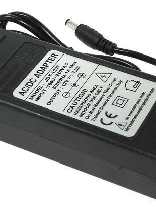 Блок питания для монитора и телевизора 12V 7A 5.5x2.5mm GDT-1207