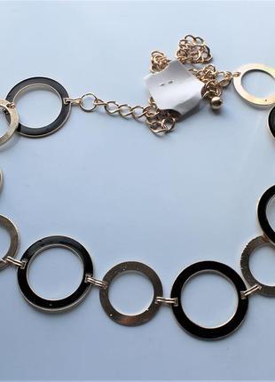 Пояс цепочка кольца