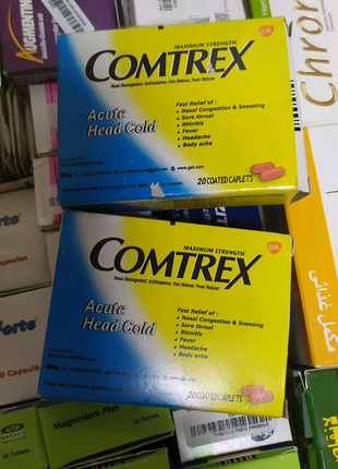 Comtrex -простуда ,грипп (Египет)
