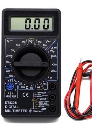 Цифровой мультиметр тестер вольтметр Digital DT-830B цифровой