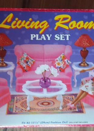 Мебель для барби гостиная ТМ Глория