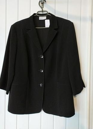 Женский пиджак блейзер большого размера  hermann lange