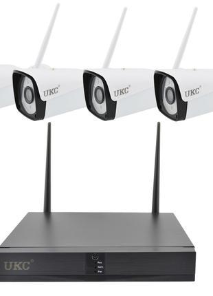 Набор камер видеонаблюдения WiFi KIT 4CH 2Мп
