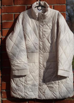 Стильная стеганая куртка 54-56